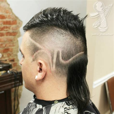 pics haircut side mullet 10 modern mullet haircuts for stepping out with pride