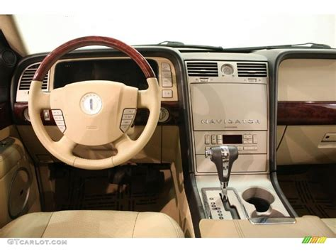 2005 Lincoln Navigator Interior by 2005 Lincoln Navigator Ultimate 4x4 Camel Dashboard Photo