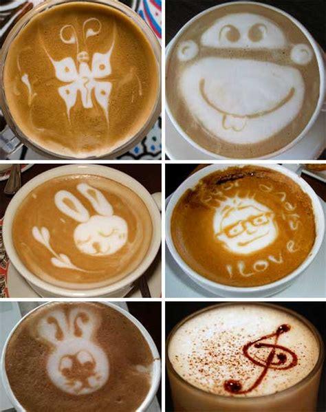 decorative art in coffee designer baristas 50 incredible works of coffee latte