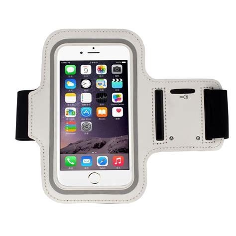 Armband Iphone 6 Plus Merah ruang olahraga ban lengan arm band yang menutupi kasus