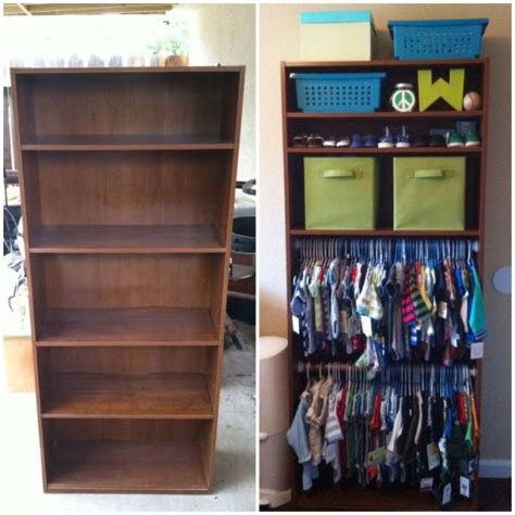 How To Organize Top Shelf Of Closet by 15 Totally Genius Ways To Organize Baby Clothes