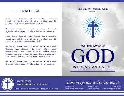 Free Brochure Templates Pageprodigy Free Children S Church Bulletin Templates
