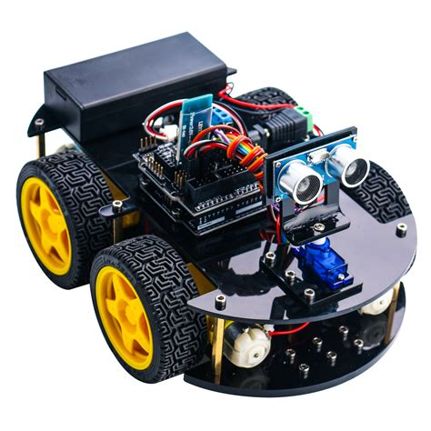 24 in 1 elegoo arduino project smart robot car kit with