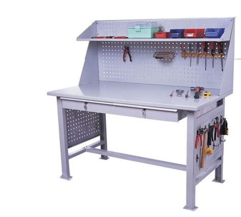 Workshop Tables by Motorcycle Or Car Workshop Use Steel Work Bench Portable