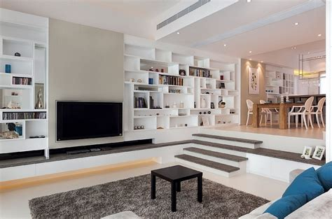 Step Living Room by Step Up The Style Quotient Of Your Interiors With Sunken