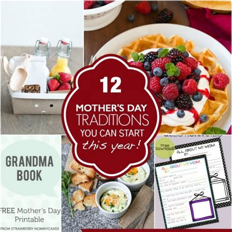 s day traditions 12 mother s day traditions you can start this year