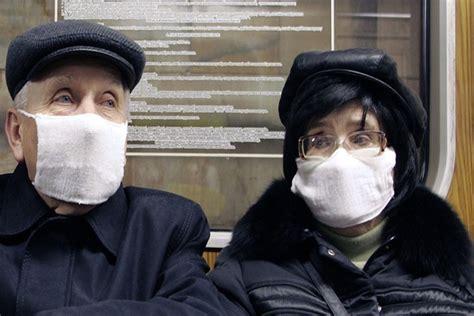 Masker Babi satu harapan flu babi merebak di rusia dan suriah