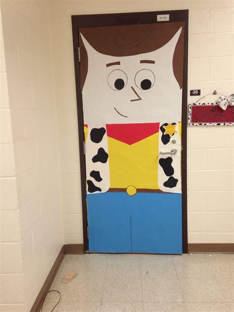 woody classroom door decor story story classroom theme cowboy classroom