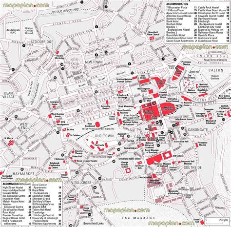 printable maps edinburgh maps update 1200836 edinburgh city map tourist 15