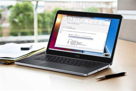 Dell S New Xps And Xps15 Laptops Super Fast Super Look Laptop On Desk