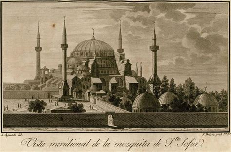 ottoman empire istanbul ottoman empire hagia sophia mosque from the south