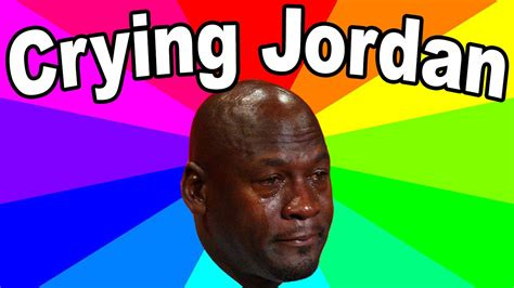 Michael Jordan Crying Meme - a list of the best sports memes crying jordan and the