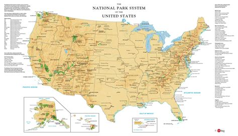 national parks usa map usa national parks wall map maps