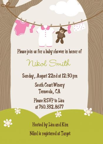Baby Boy Decorations Clothesline It S A Baby Shower Invitations Candles