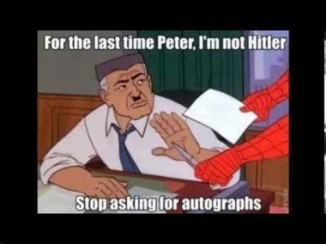 60 s spiderman meme compilation youtube