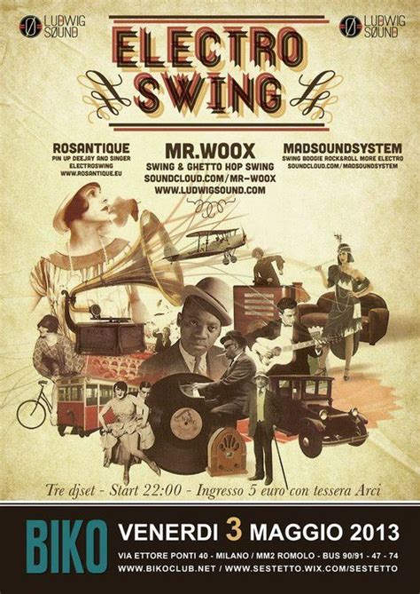 electro swing music pinterest the world s catalog of ideas