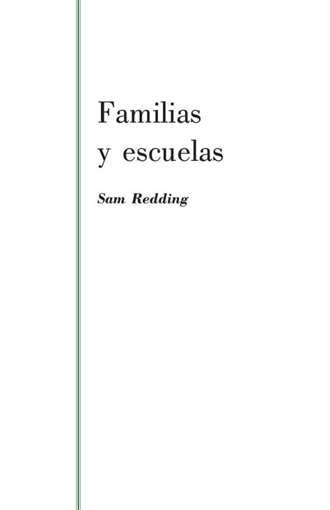 redding sam 2006 familias y escuelas esslidesharenet familias y escuelas sam redding 2006
