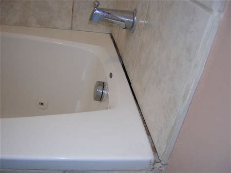 bathroom gap filler gap between bathtub and tiled wall ceramic tile advice