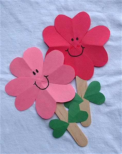 Paper Flower Crafts - paper flower crafts