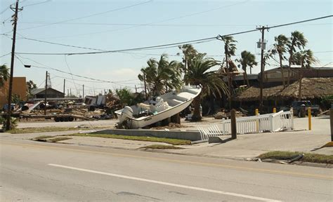 tow boat us port aransas tx texas surf photographer documents hurricane harvey damage