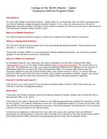 Employee Referral Program Template by Employee Referral Program Template Best Template Idea