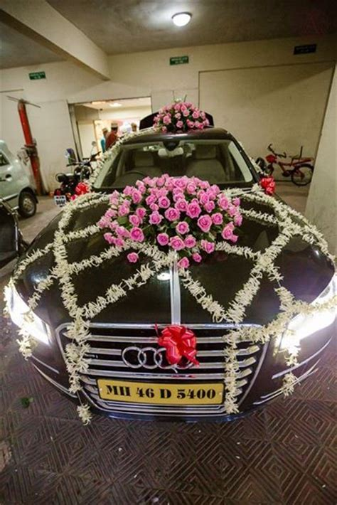 Wedding car decorations, Wedding cars and Indian weddings