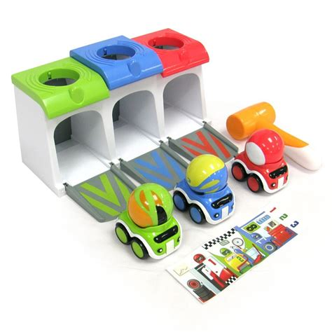 Car Garage Toys Toddlers by Race Cars Garage Toddler Activity Playset Educational