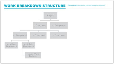 work breakdown structure pmd pro