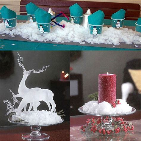 instant artificial fake snow powder kids play wedding xmas