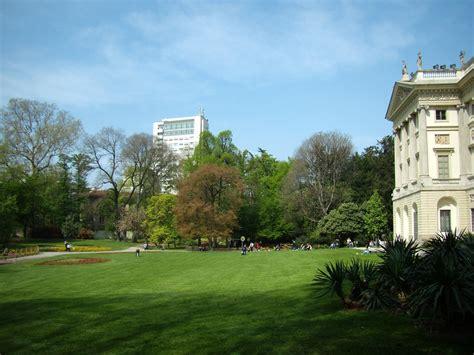 giardini palestro giardino della villa belgiojoso bonaparte