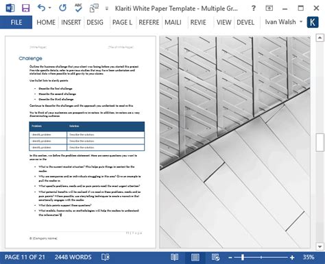 white paper templates 15 ms designs for sales marketing