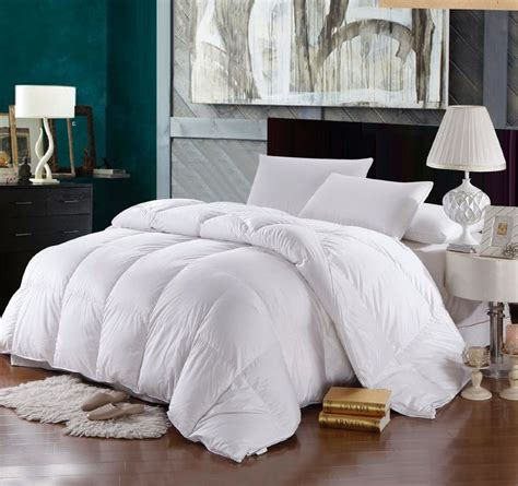 100 Goose Comforter by California King Size Comforter 500 Thread Count