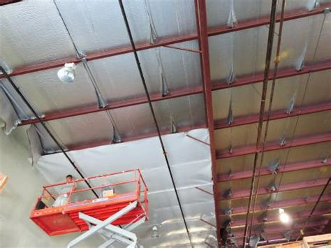 warehouse ceiling insulation retroshield reflective insulation system fi foil company