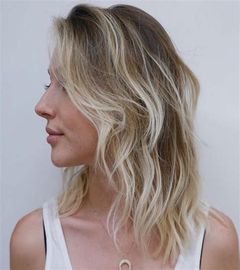 hairstyles for blonde long length hair shoulder length blonde trends inspirational hairstyles