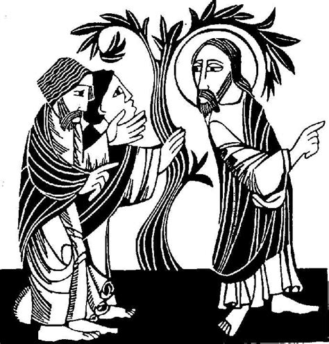 jesus nathanael coloring page philip nathanael and the fig tree sacred story