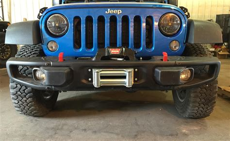 jeep rubicon winch bumper rock 4x4 patriot series winch plate for 10a
