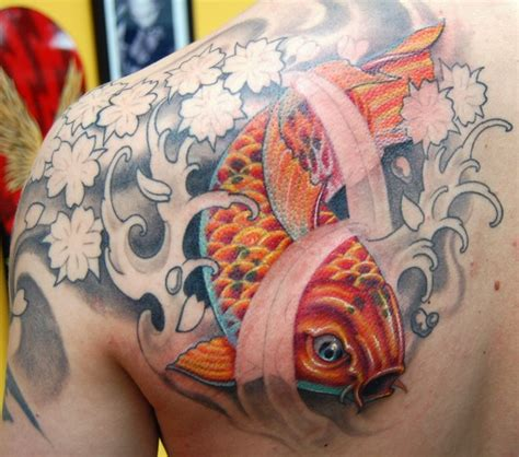 tattoo koi sakura koi sakura by marvin silva tattoos