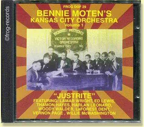 bennie moten new moten stomp bennie moten volume 1 frog records jazz blues