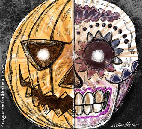 imagenes halloween y dia de muertos amasijo de contradicciones mirador halloween vs d 237 a de