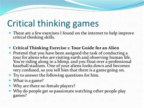critical thinking skills practical strategies for better decision problem solving and goal setting books the benefits of critical thinking