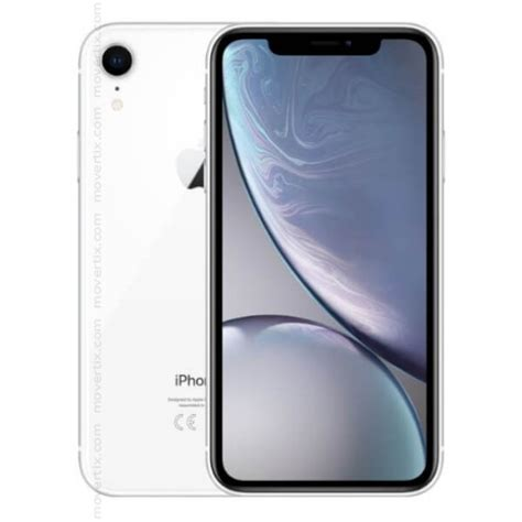 apple iphone xr white 64gb 0190198770844 movertix mobile phones shop