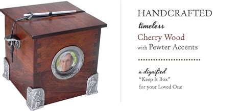 Handcrafted Synonym - image gallery handmade wood urns