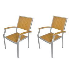 allen roth thorncliffe aluminum stackable patio chairs on patio dining home depot and