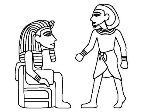 imagenes egipcias dibujos dibujo de reyes egipcios para colorear dibujos net