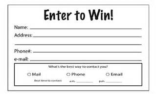 Enter To Win Template by Enter To Win Template Playbestonlinegames