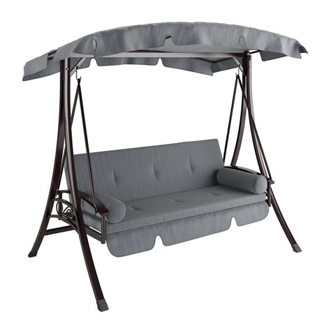 patio swing corliving pnt 532 s nantucket daybed patio swing lowe s