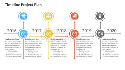for a project timeline project plan powerpoint template