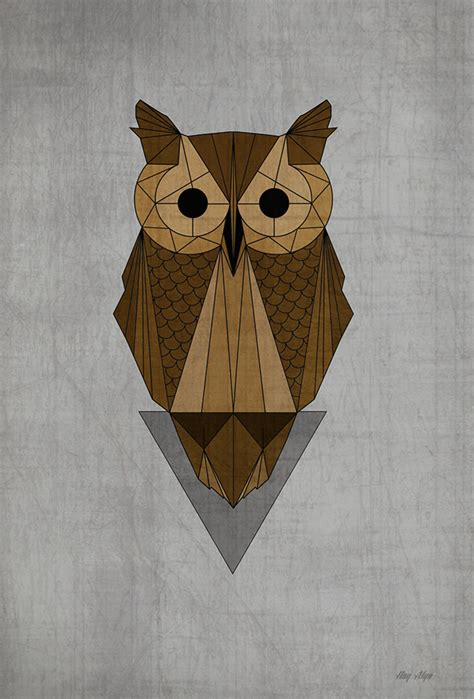 geometric animals ii on behance