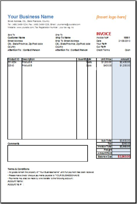 open office templates invoice basic sales invoice template for openoffice invoice