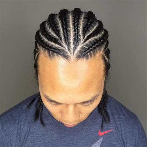 Picture Of Side Way Boys Hair Braids | gallery cornrows men sideways black hairstle picture